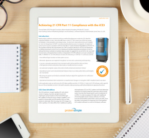 Achieving 21 CFR Part 11 Compliance with the iCE3