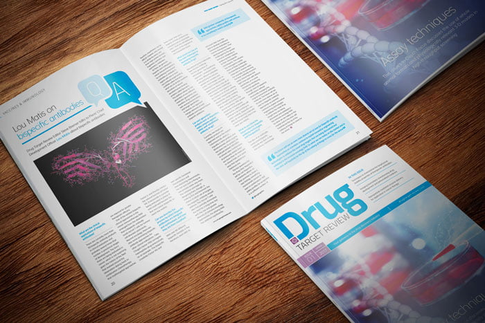 Drug Target Review magazine Issue #1 2017 spread