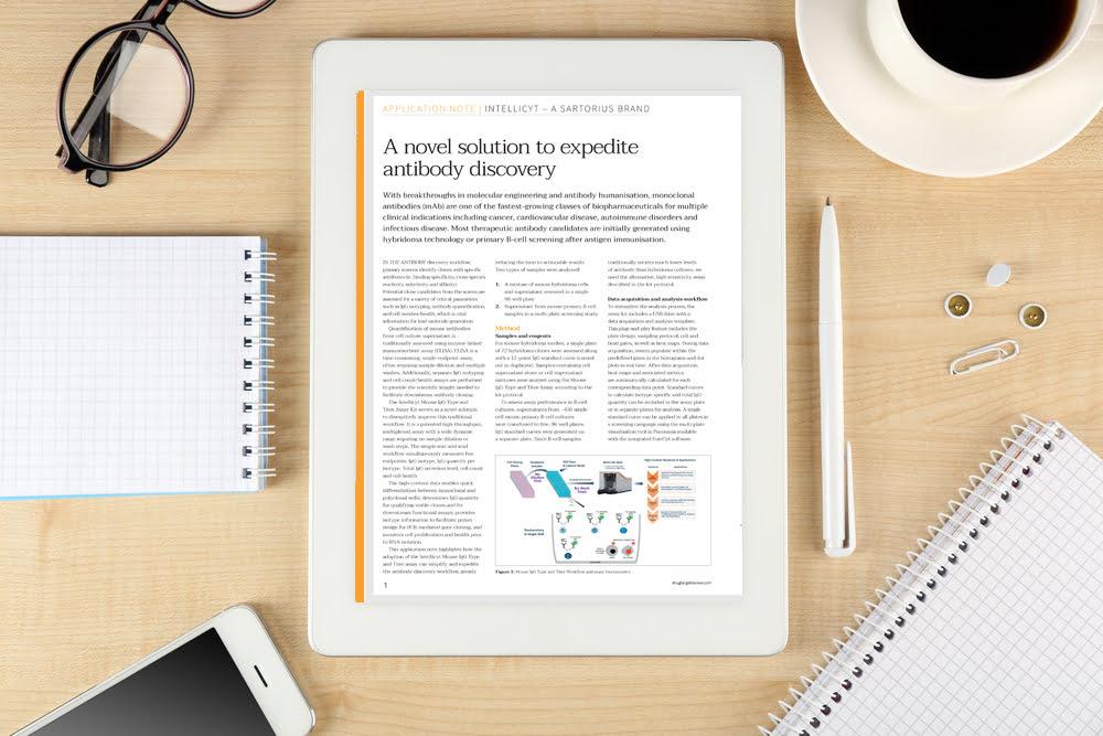 A novel solution to expedite antibody discovery