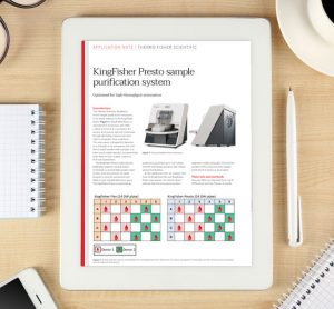 Application note: KingFisher Presto sample purification system