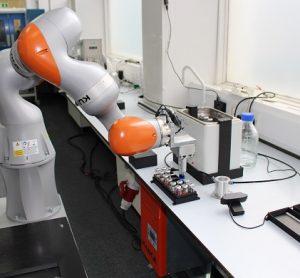 University of Liverpool's Robot Researcher