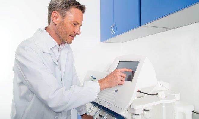 Scientist Operating Sentosa SQ301