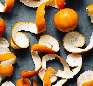 mandarin peels