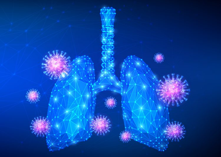 COVID-19 lung inflammation